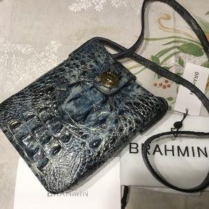 Brahmin Marley Glacier Melbourne Leather Crossbody